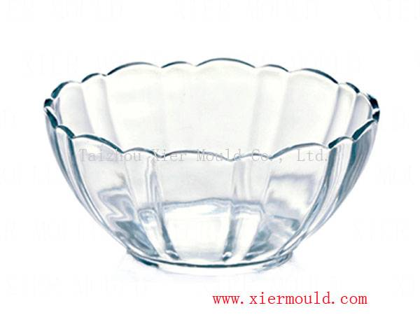 Plastic mould for plate