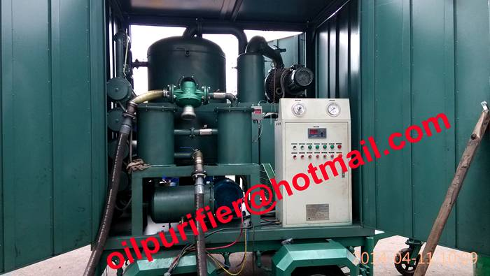 Mobile trailer Transformer Oil Treatment Plant,Oil purification,degasification,dehydration