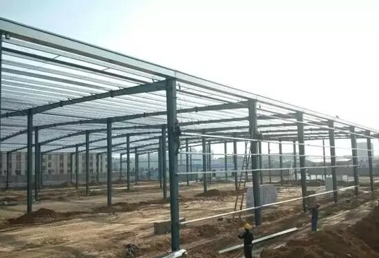 industrial workshop-steel structure-Nanyang xinxing steel structure