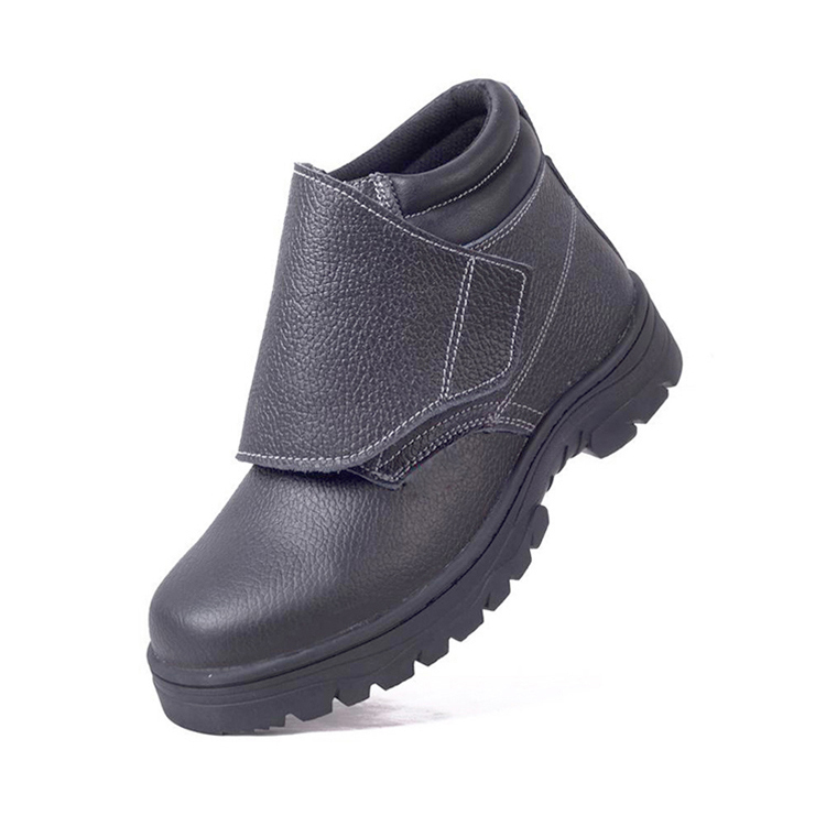 Leather Safety Shoes Steel Toe Work Shoes Welding Boots