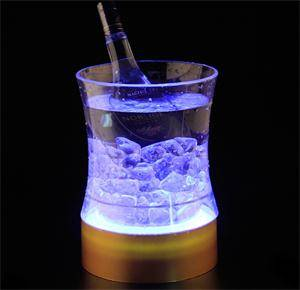 acrylic bottle wine cooler