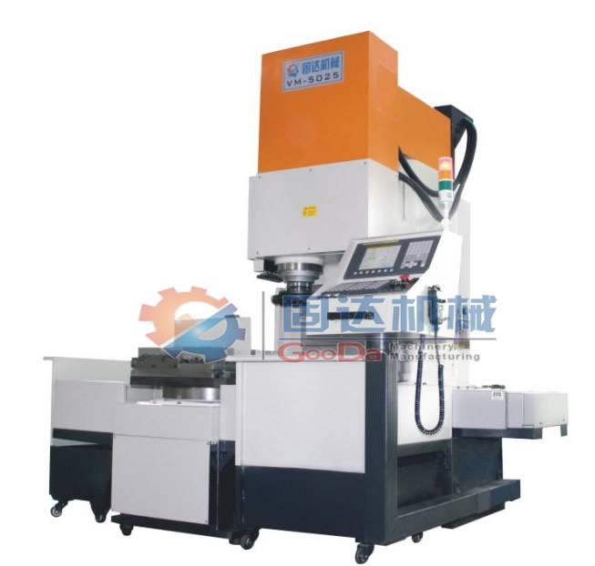 Metal processing machine surface
