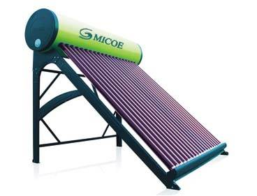 Low-pressure solar water heater