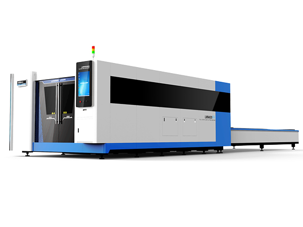 High Power CNC Fiber Laser Cutting Machine with Protective Cover