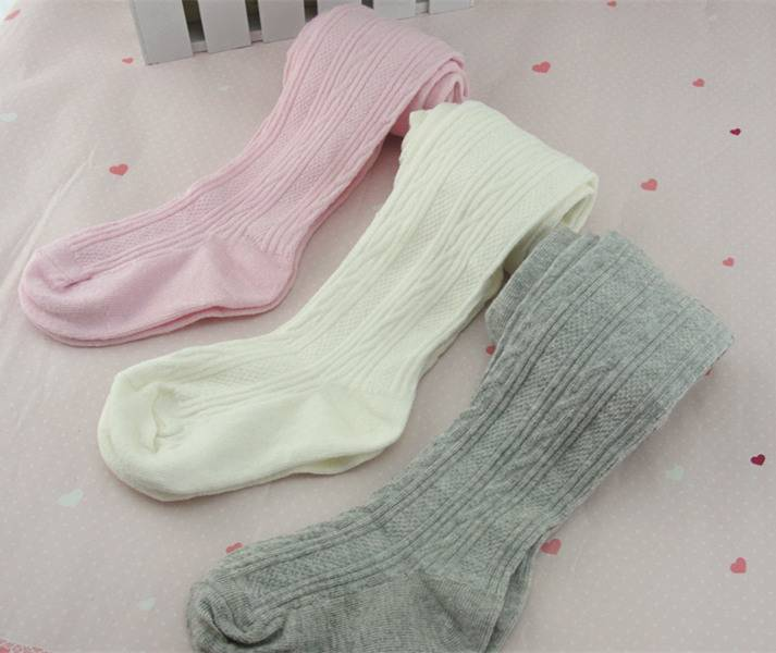 Double Needle Children's Pantyhose cotton kids tights dancing tight