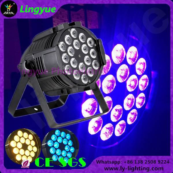 18x18 RGBWA UV 6in1 indoor led par can