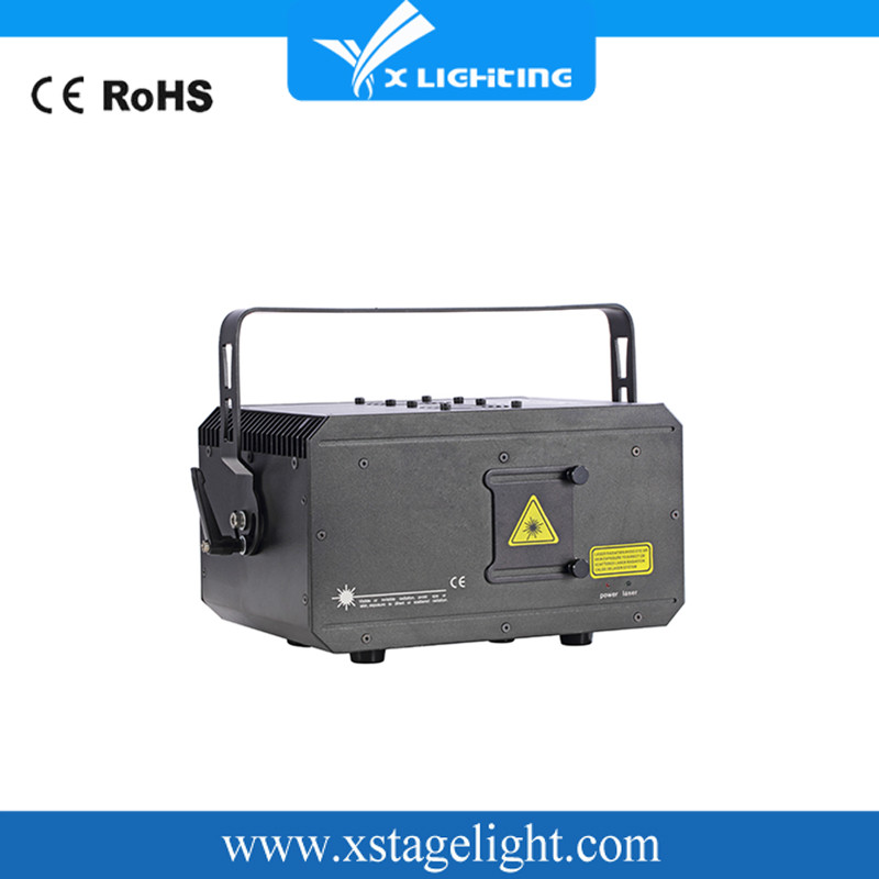 2500MW RGB laser stage light for disco