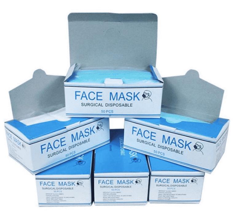 3ply Disposable Face Mask Non Woven
