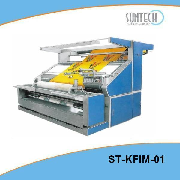 Open Width Knitted Fabric Inspection Machine(Ideal For Tensionless Checking)(ST-KFIM-01)
