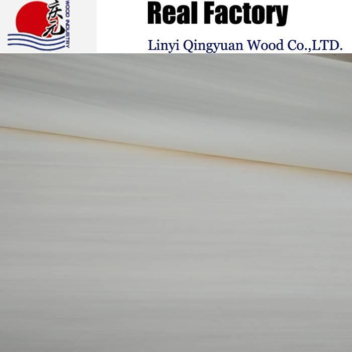 engineered white wood veneer factory supply plywood face veneer