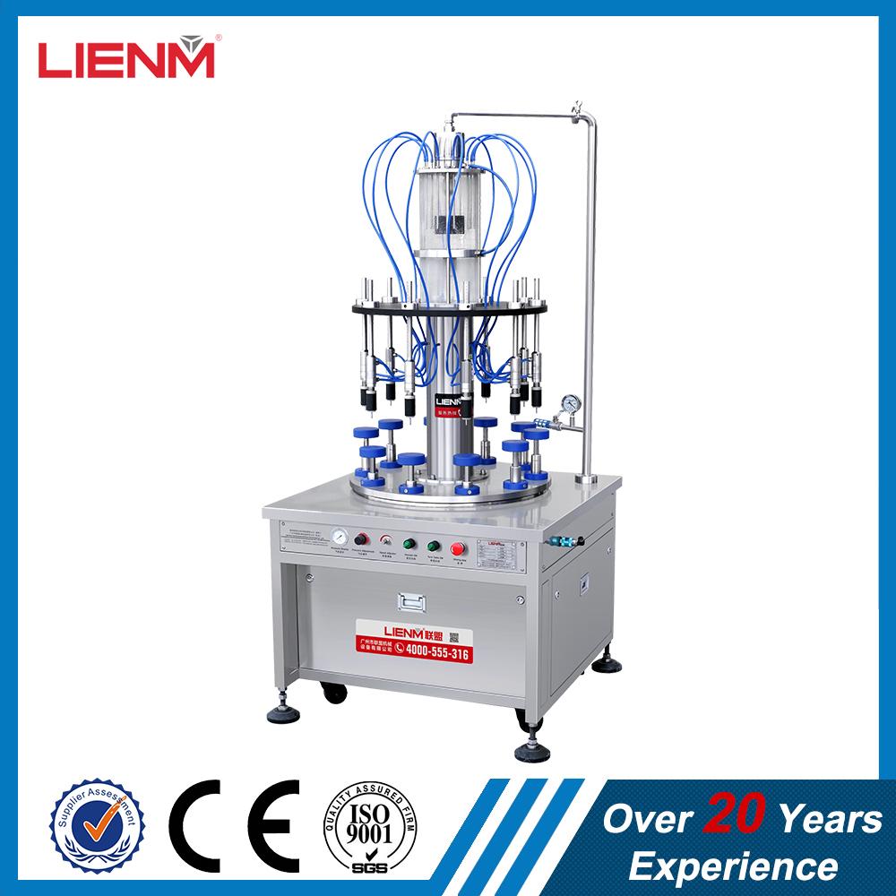 Guangzhou Factory Full Pneumatic Automatic Ten Nozzles Perfume Filling machine