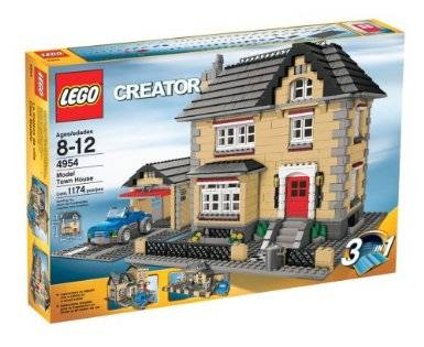 New Lego Creator #4954 Model Town house