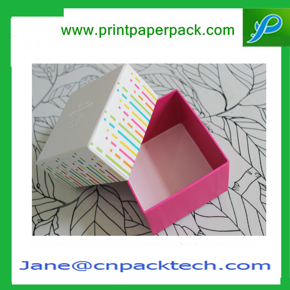 Custom Offset Printing Paper Box Top and Bottom Box Gift Box