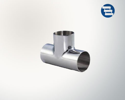 Sanitary Stainless Steel Pipe Fitting Welded Tri Clamped Equal TEE