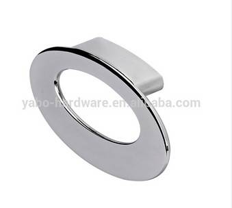 modern zinc ring pull handles for dresser office desk hardware item