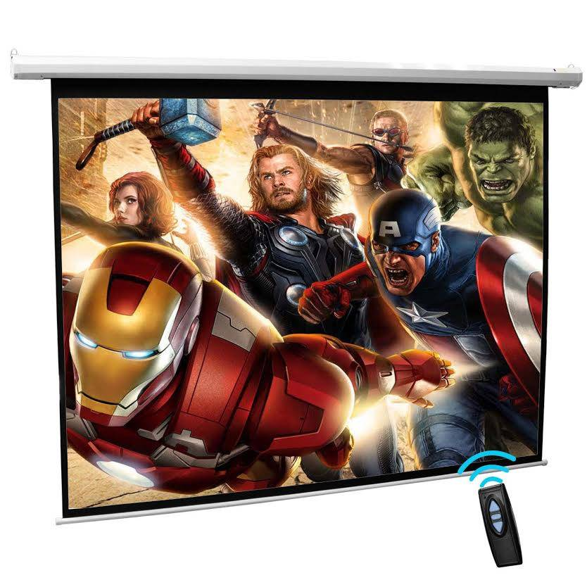 Cynthia Remote Control Electric Projector Screens