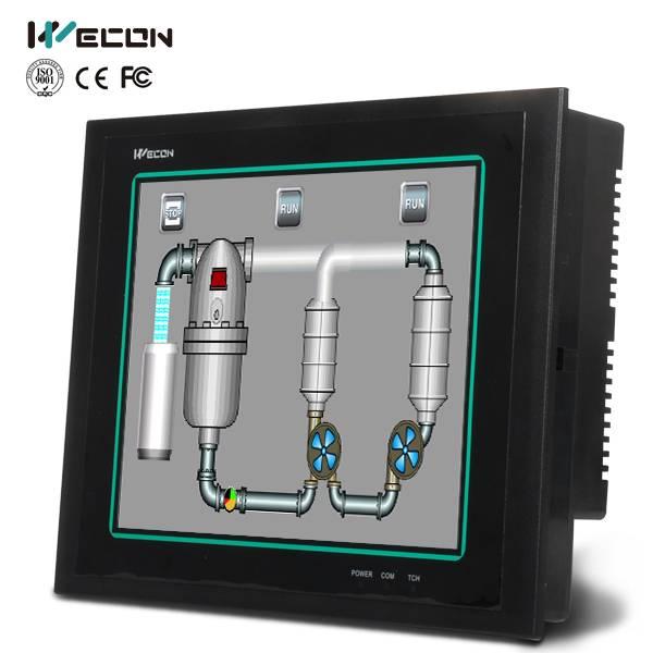 Wecon 10.4 inch human machine interface(hmi)/hmi touch screen