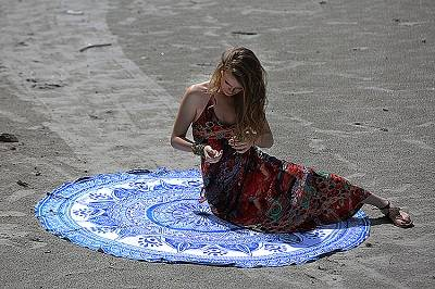 Mandala Beach Throws,Mandala Wall Hanging