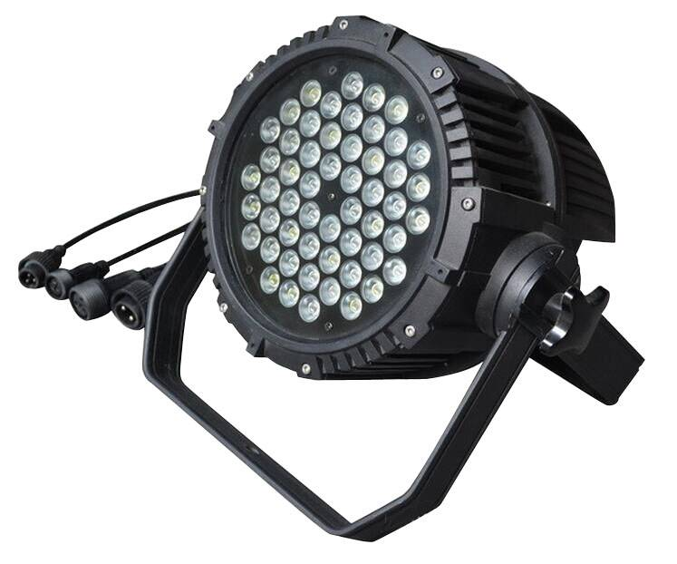 Outdoor waterproof 54 led par lights