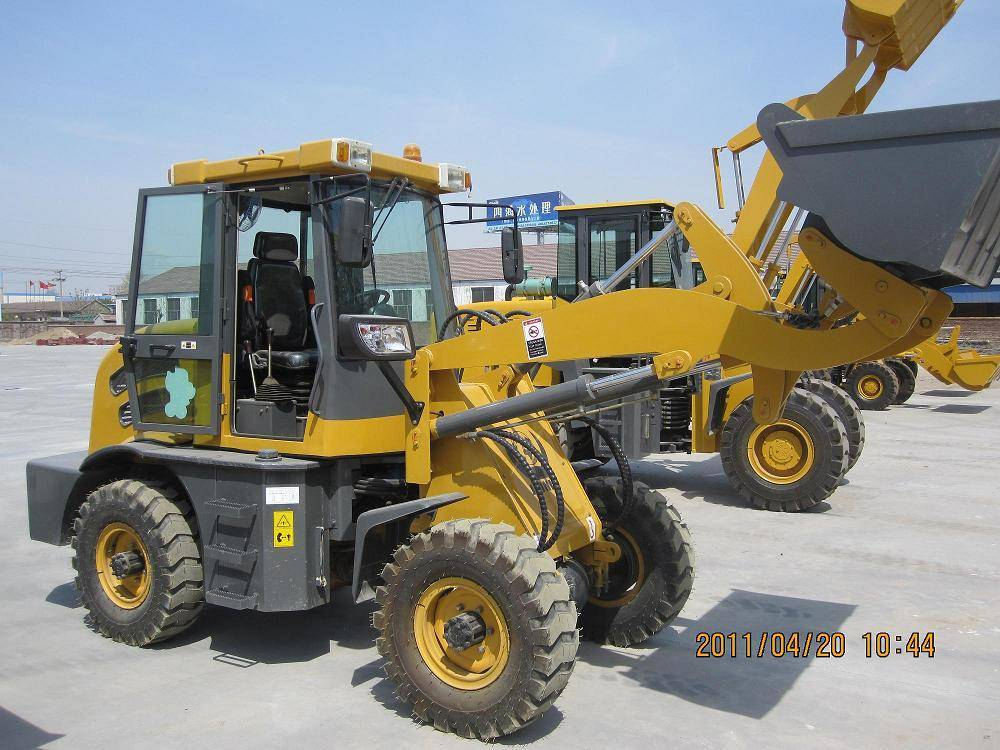 ZL12 compact and hydraulic mini wheel loader with ce