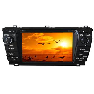 TOYOTA 2014 NEW COROLLA Special Car DVD Player with GPS,Ipod