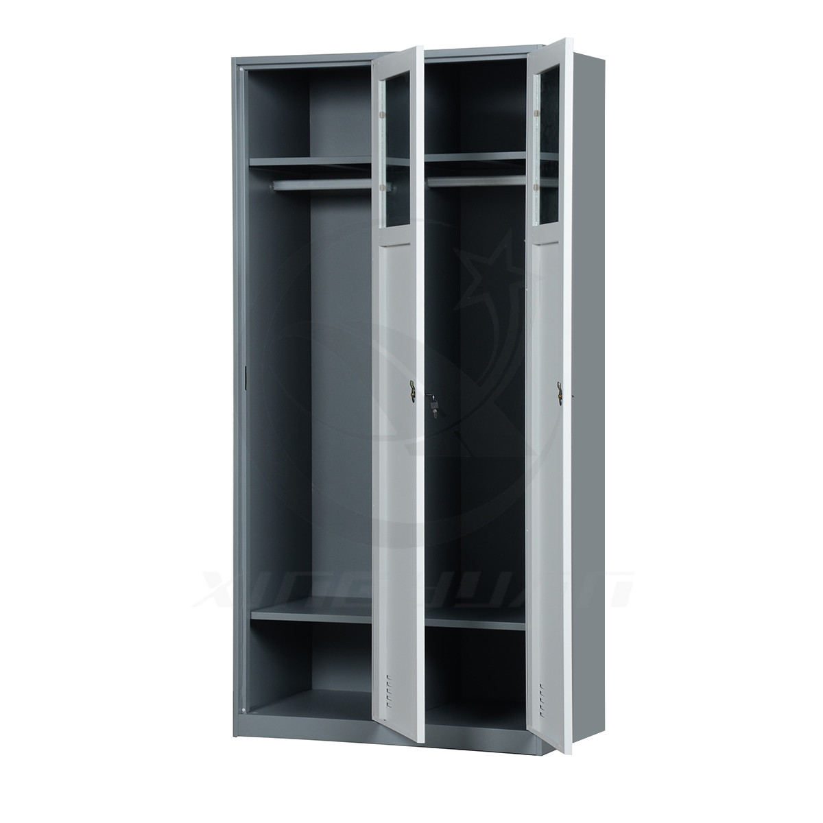 Different Color Available 2 Door Metal School Locker Wardrobe