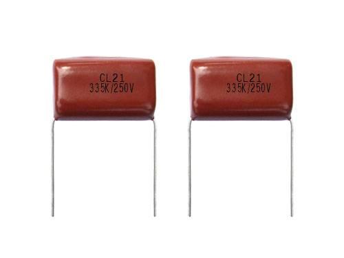 metallised polyester film capacitor CL21 MEF