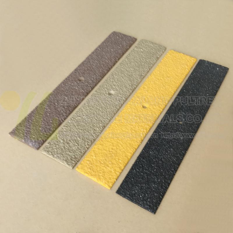 Fiberglass reinforced plastic flat bar, FRP anti slip strip