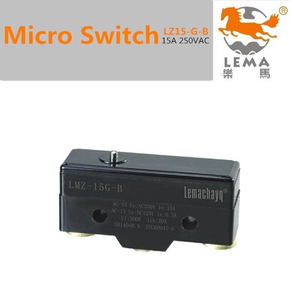 15A 250v Micro limit switch