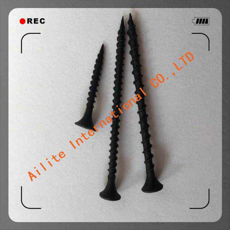 Customized steel black coated Wood Screw Self Tapping Screw Drywall Screw