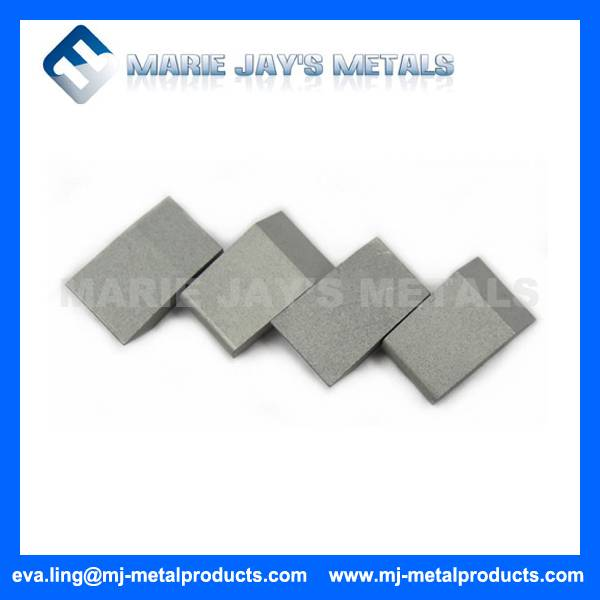 Carbide saw tips for TCT circular saw blade
