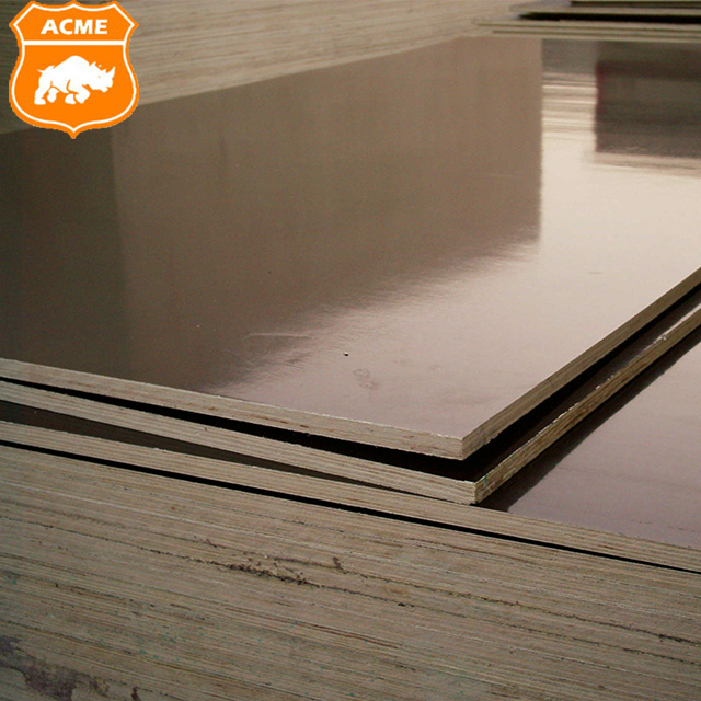 15mm Poplar Core Film Faced Plywood Water Proof Glue From Pizhou Factory in China