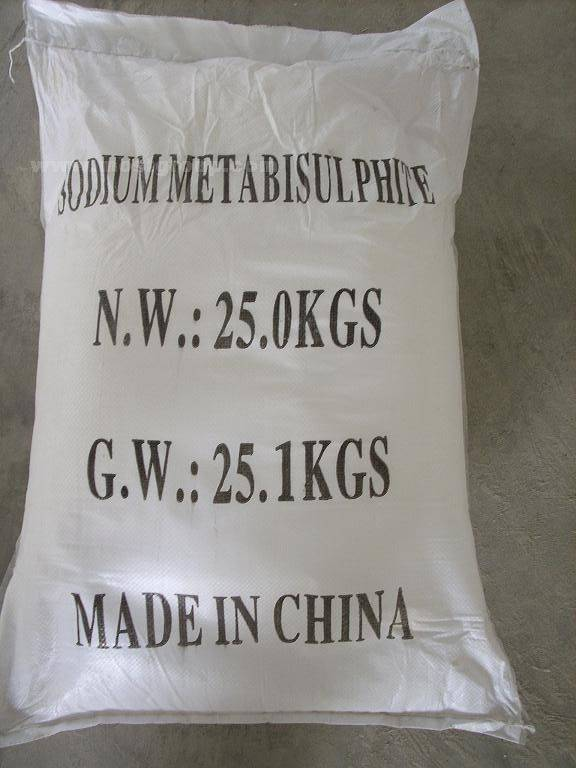 sodium metabisulphite/ sodium metabisulfite