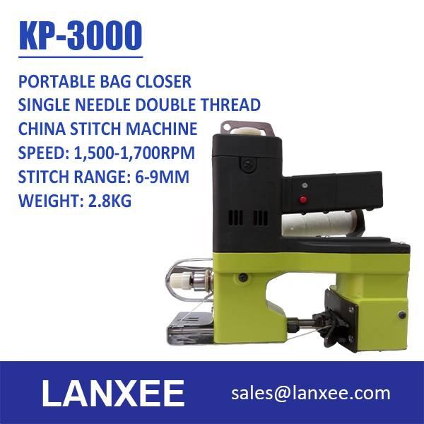 Lanxee KP-3000 Extreme Light Portable Bag Closer Bag Sewing Machine