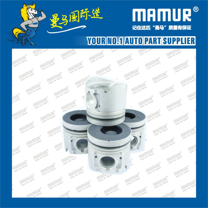 MAMUR Piston for ISUZU 4JB1/4JH1/4KH1/4HK1/ JMC Transit/Carry Truck