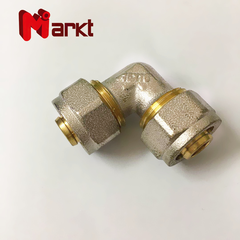 Multilayer brass fitting compression screw adaptor Wholesale Brass compression pex al pex pipe fitti