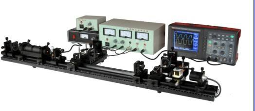 dual frequnecy  laser experiment system