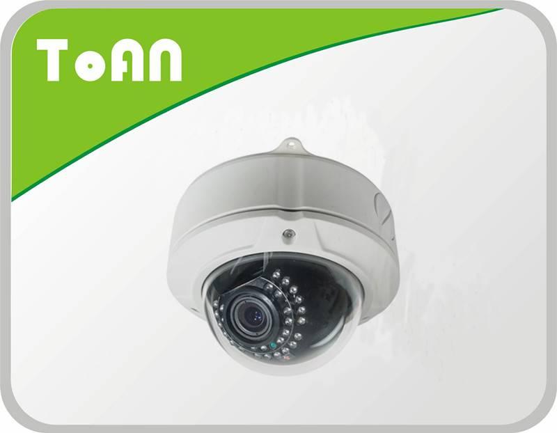 TOAN Indoor Popular Design 30 IR LEDS,0 Lux Sony Ccd Dome Camera anti-vandal dome ir camera ir dome