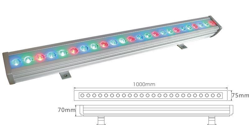24W colorful led wall wash light
