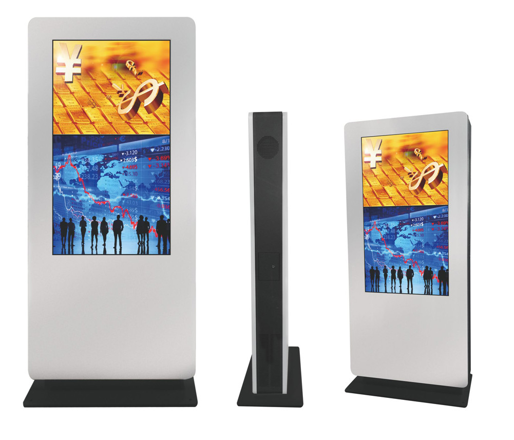 55'' TFT Energy-saving LED ultra-high brightness standing all in one AD player digital video display