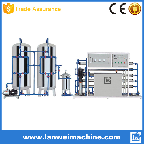 3000L/H Reverse Osmosis System Water Treatment Machine