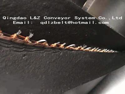 stell mesh conveyor belt