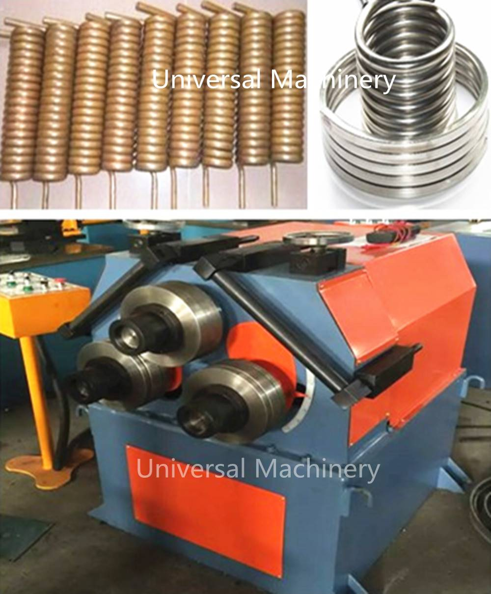 China Low price Hydraulic Pipe Rolling Bending Machine
