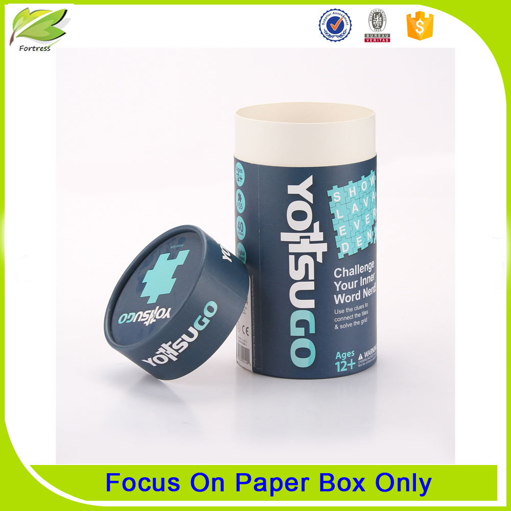 Custom printing paper cardboard tube box