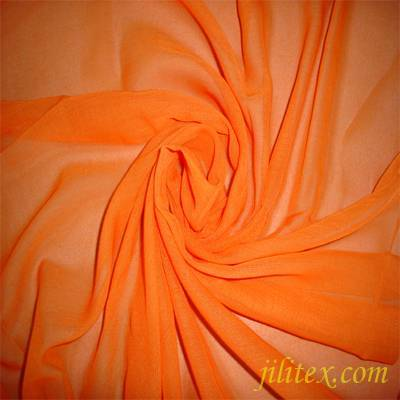 polyester voile scarf  fabric 80s*80s