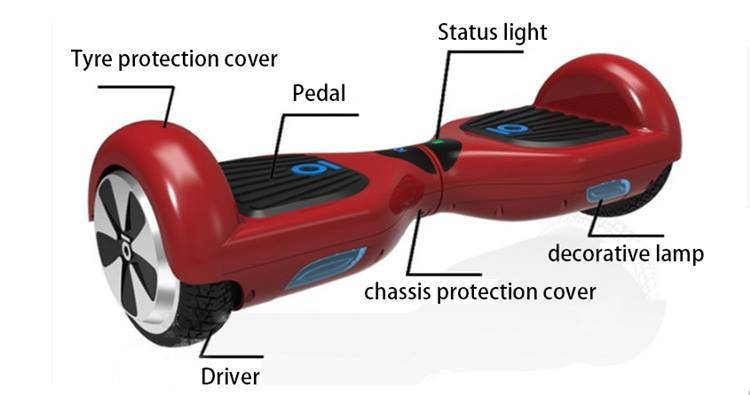 New Product Smart Self Balance Mini Two Wheel Electric Scooter