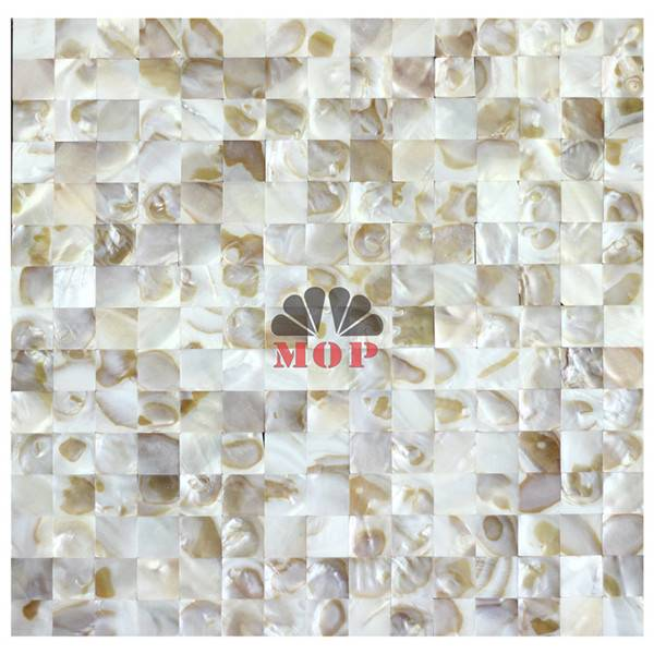 wall tesserae decoration panel shell tile bathroom