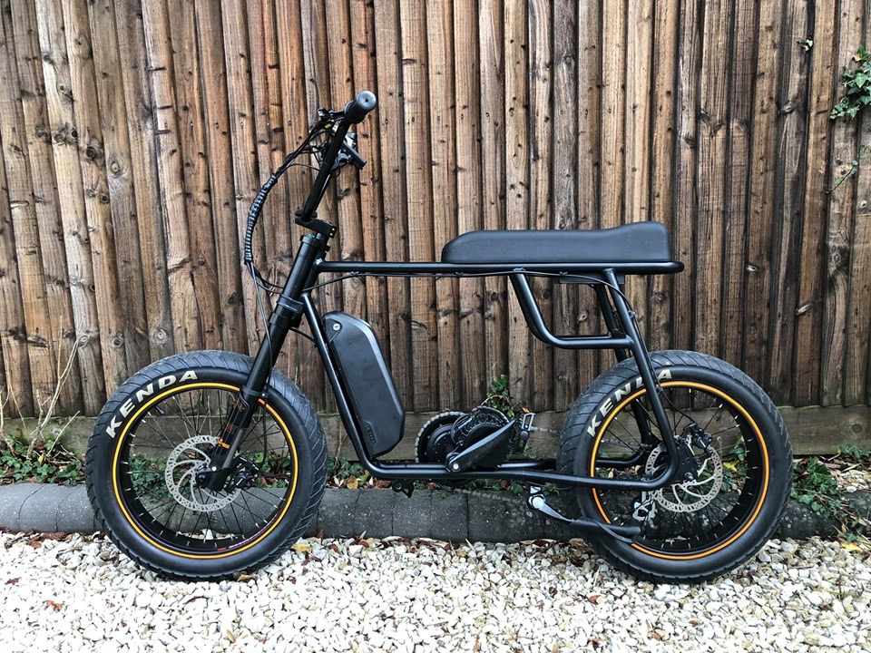 Mario 48v 1000w fat tire retro electric bike