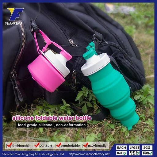 new design silicoen collapsible water bottle