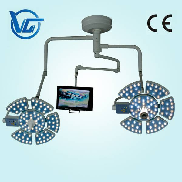 CE marked surgical shadowless lamp with camera